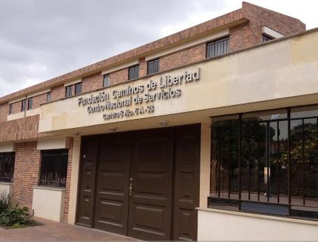 La Fundación Caminos de Libertad queda en el centro de Bogotá. Tomada de: http://www.caminosdelibertad.org