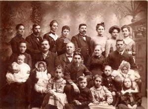Familia tradicional europea..