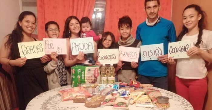 Amigos Misión Colombia una familia agradece
