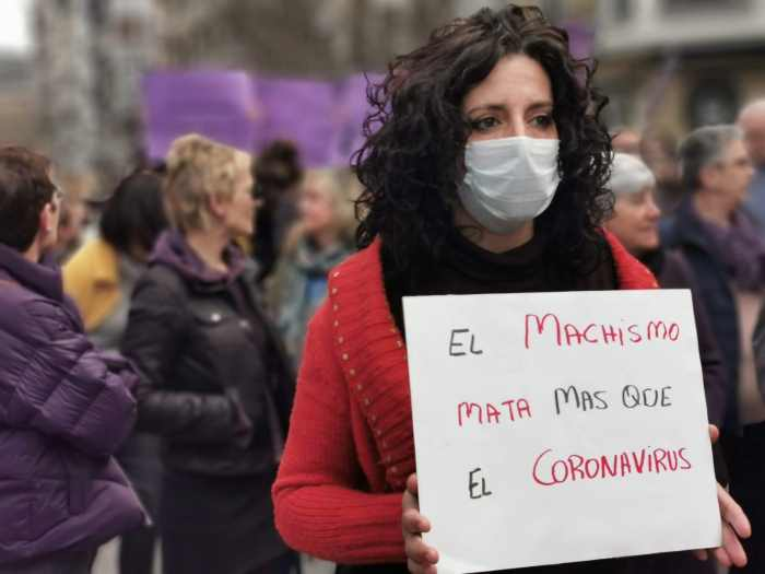 Feminismo coronavirus