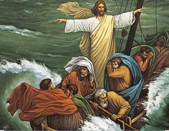 Jesús y la barca de Galilea