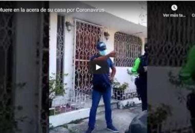 Muerto o abandonado en la acera de su casa por coronavirus