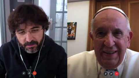 Papa francisco y Évole
