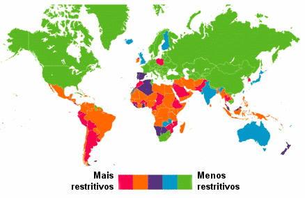Aborto en el mundo