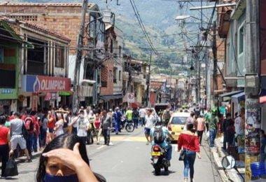 Ciudadanos desacatan cuarentena en el Corregimiento de San Cristóbal