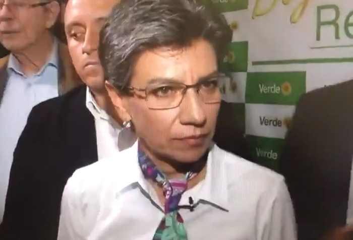 Claudia López Rueda de Prensa