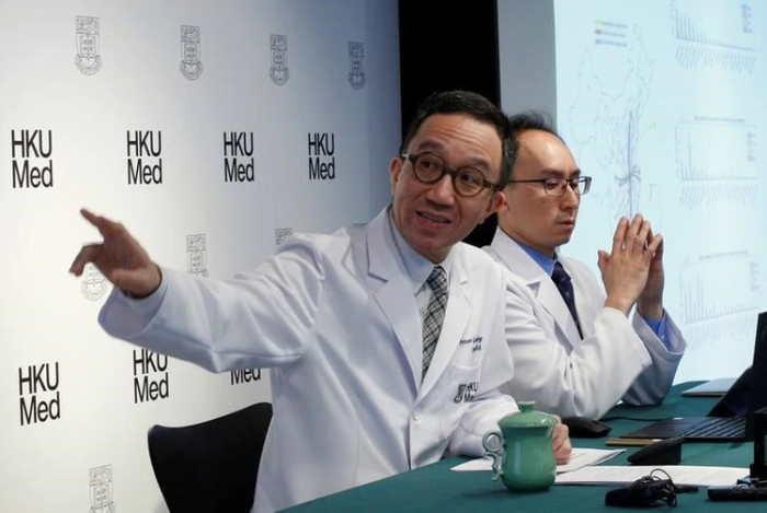 Gabriel Leung profesor de Salud Pública de la Escuela de Medicina de la Universidad de Hong Kong