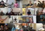 Músicos se unen por red y cantan Soy Colombiano