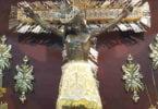 Señor de los Milagros de Buga en el Camarín imagen original