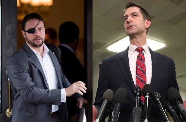 Senators Dan Crenshaw and Tom Cotton