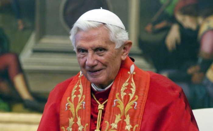 Benedicto XVI 28 de mayo de 2012