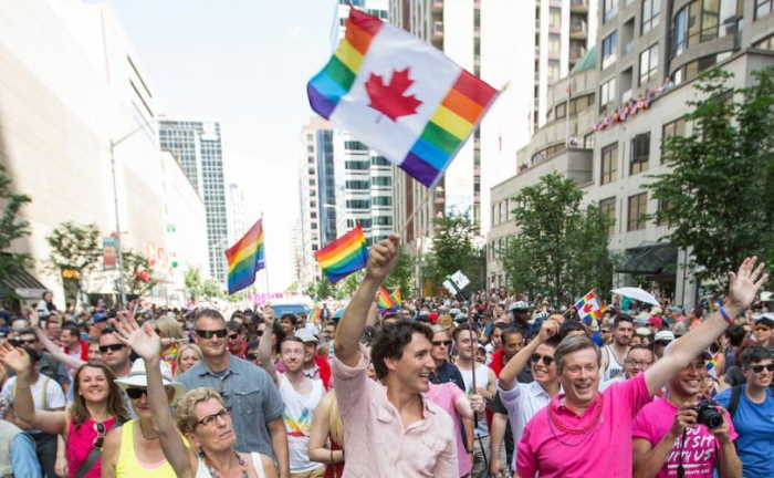 Justin Trudeau promueve el homosexualismo