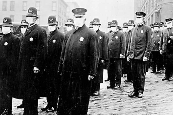 Pandemia hace 100 años Hombres