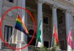 Bandera gay no debe izarse en edificios públicos
