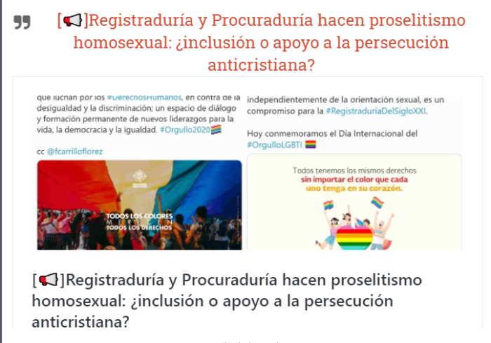 Campaña firma contra el proselitismo oficial pro lgtb