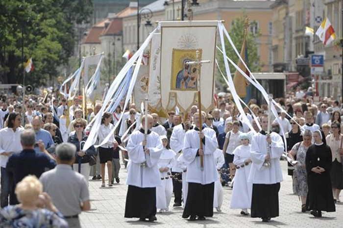 Corpus Christi en Varsovia