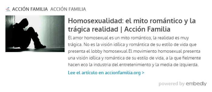 Homosexualidad mito romántico y realidad