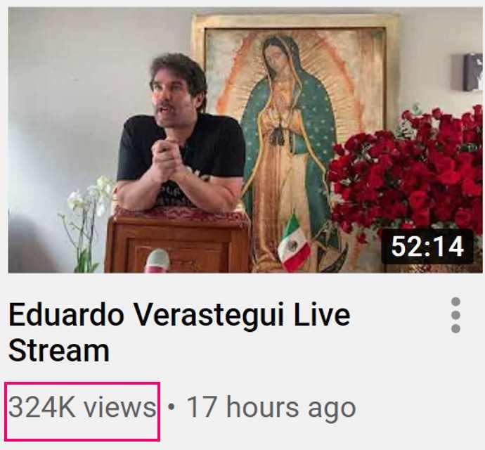 YouTube Verástegui