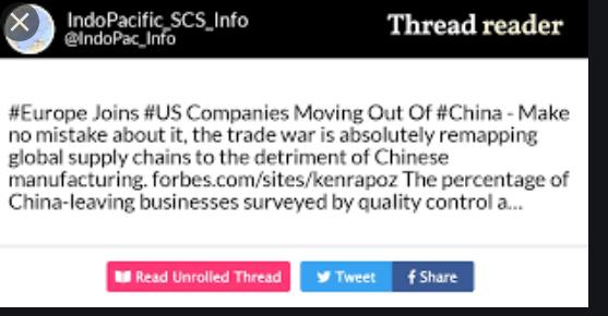 european companies leaving China 1