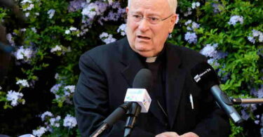 Cardenal Gualtiero Bassetti Presidente de la CEI