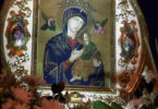 Icono de la Virgen del Perpetuo Socorro venerada en Buga Colombia por los PP Redentoristas