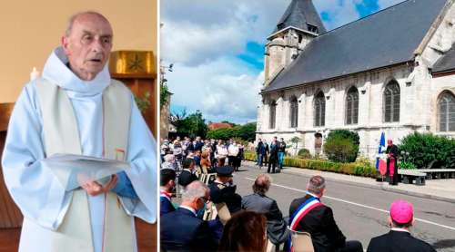 JacquesHamel Homenaje DioceseDeRouen 26072020
