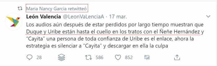 León Valencia Nancy García