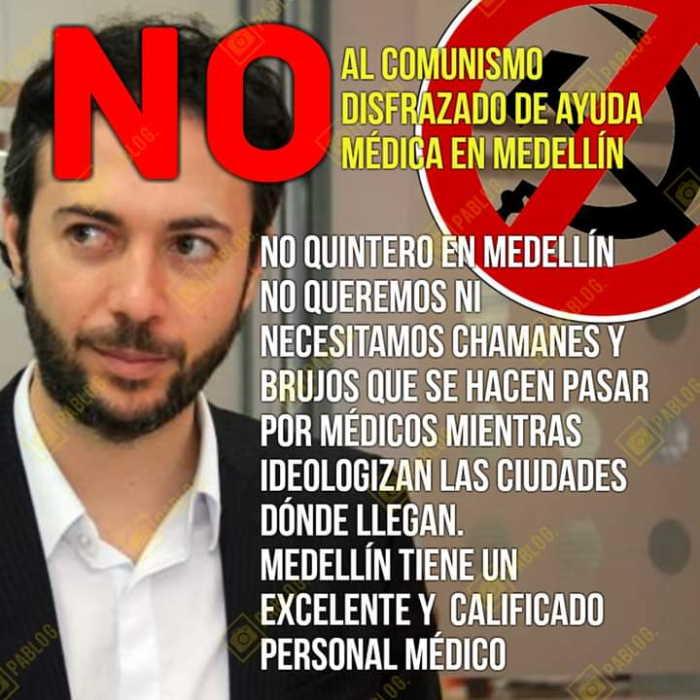 Rechazo en redes a iniciativa de alcalde Quintero 1