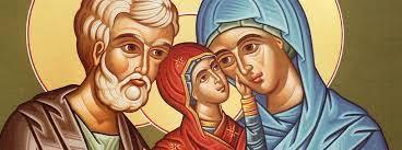 Santa Ana y San Joaquín padres de la Virgen