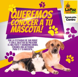 Concurso de mascotas La Paz