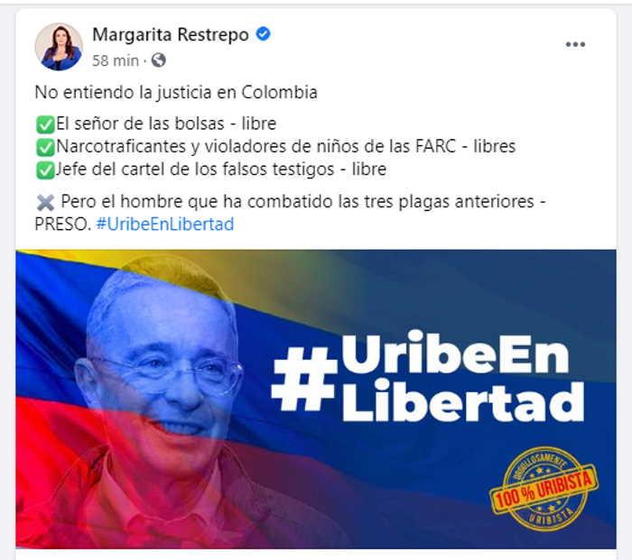 Margarita Restrepo Los que están libres