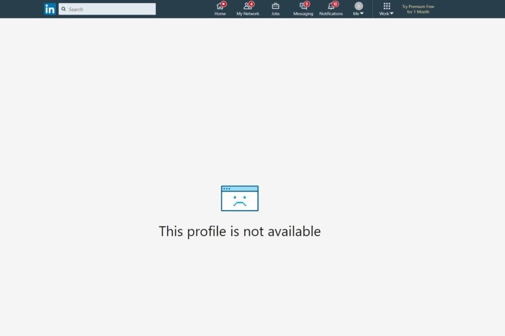 Marino Tadeo Linkedin borrado