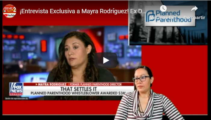 Mayra Rodríguez Ex directora de Planned Parenthood