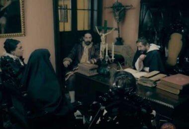 Santa Rosa de Lima escena película
