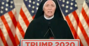 Sister Mary Byrne at RNC 2020