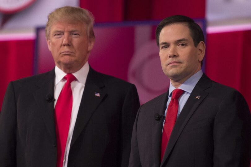 marco rubio and trump