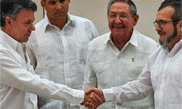 Acuerdo Santos Timochenko Cuba