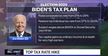 Biden Tax raise plan