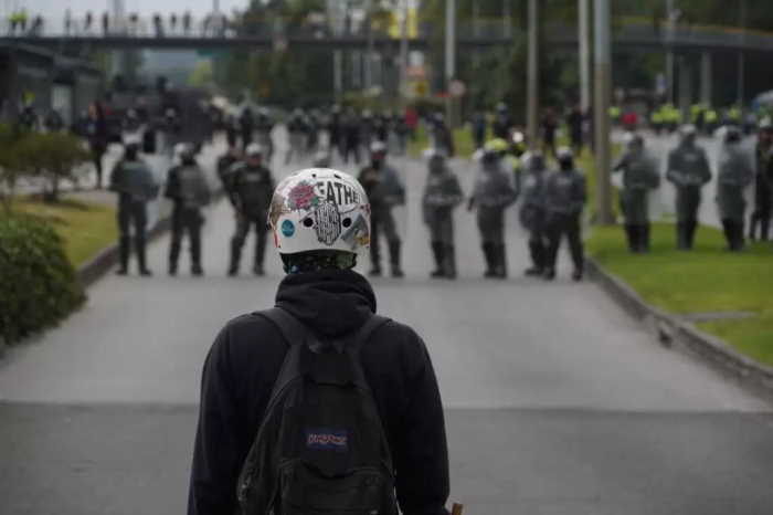 Disturbios Fotografia tomada de El Tiempo
