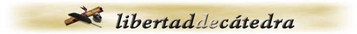 Libertad de Catedra