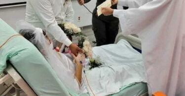 Matrimonio en hospital duro dos dias
