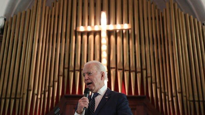 catholic group against Biden