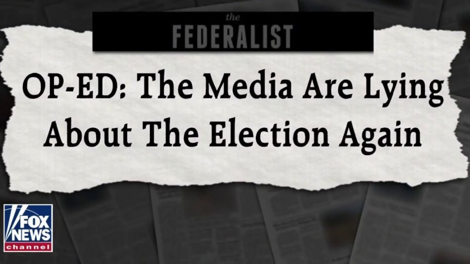 media are lying about the election 2020