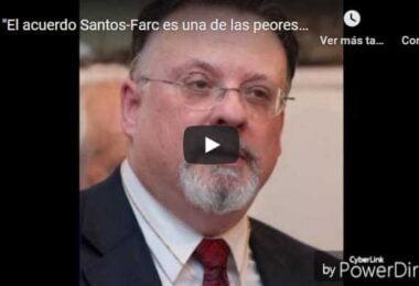 Cesar Vidal sobre el acuerdo Santos Farc