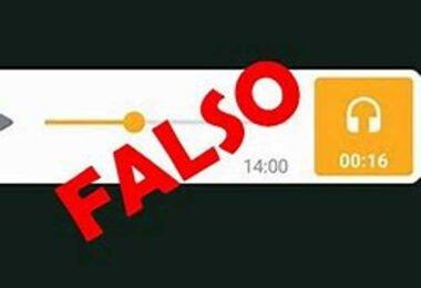 Falso audio