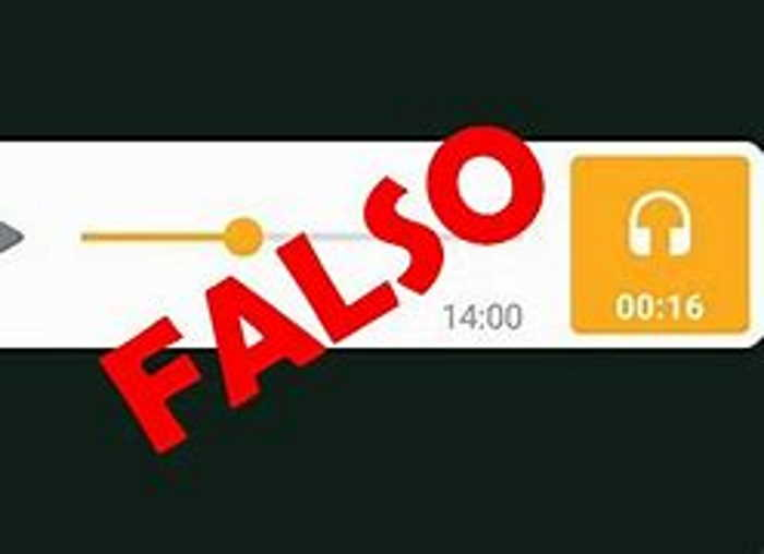 Falso audio