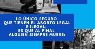 ¿Aborto Seguro?