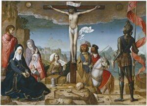 Crucifixion Juan de Flandes