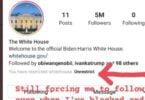 instagram white house